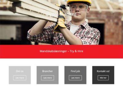 fredensborg-mandskabsudlejning.dk hjemmeside