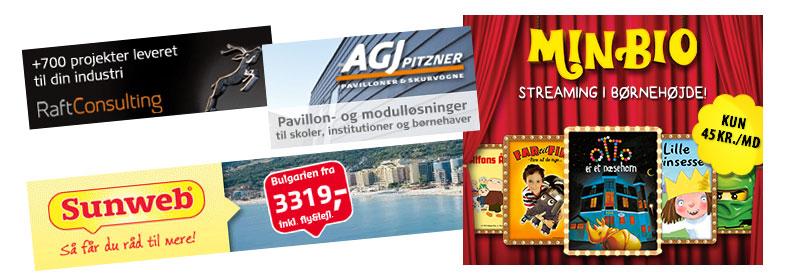 Online banner produktion