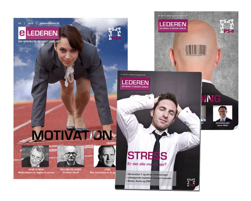 Layout og opsætning af interaktivt magasin til eLEDEREN
