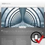 DeepFocus Wordpress skabelon - optimal til fotografer og kunstnere
