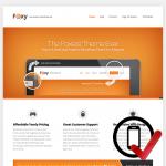foxy WordPress skabelon - til alle virksomheder