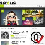 nexus WordPress skabelon - magasinstil