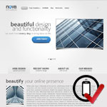 nova Wordpress skabelon en er skarp og simpel