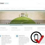 Trim Wordpress skabelon - super minimalistisk og perfekt, når du ikke har mange billeder