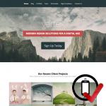 vertex WordPress skabelon - optimal til fremvisning af flotte produkter