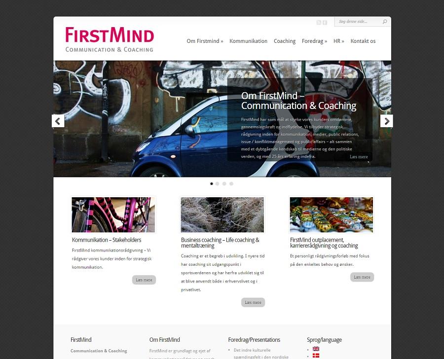 firstmind.dk hjemmeside