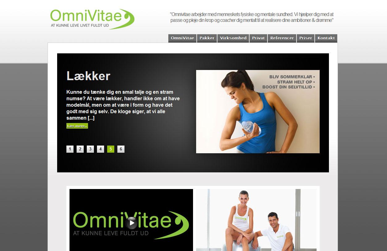 OmniVitae har fået lavet logo og hjemmeside