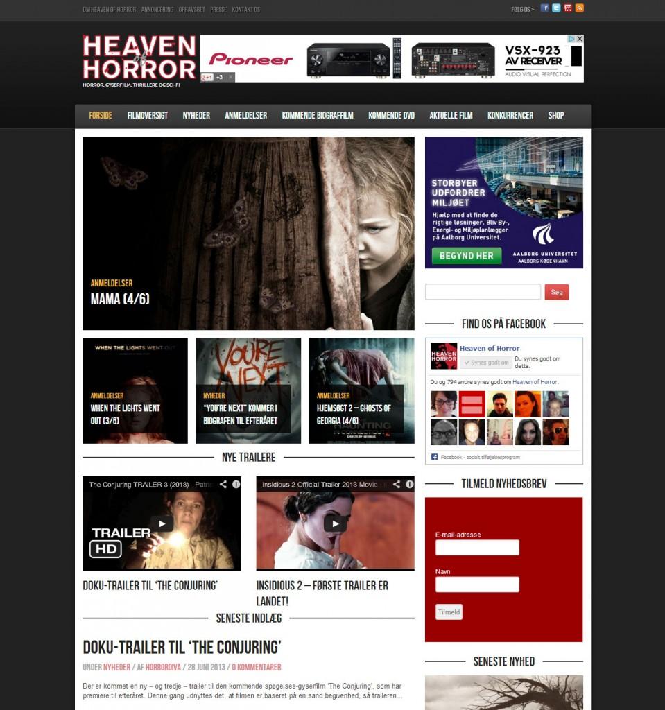 Heaven of Horror - konvertering af TYPO3 side til WordPress