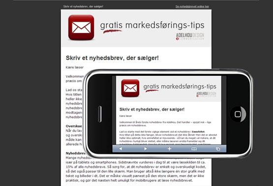 Læs mere om mobilvenlige nyhedsbreve