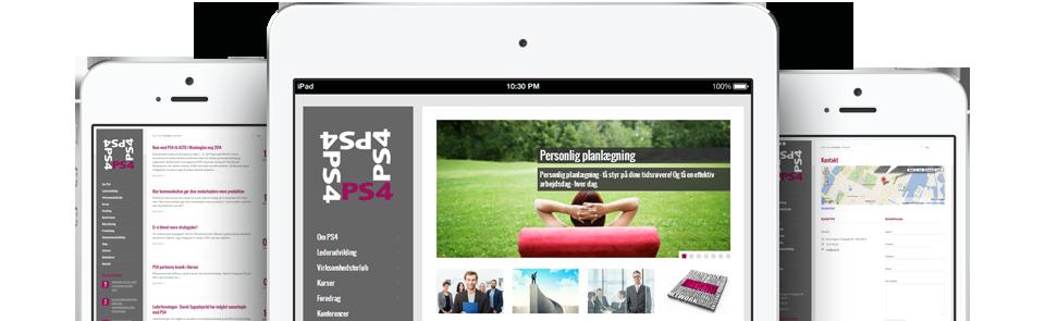 Ny WordPress hjemmesideskabelon til PS4