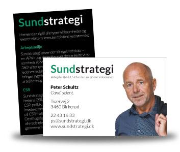 Sundstrategi visitkort