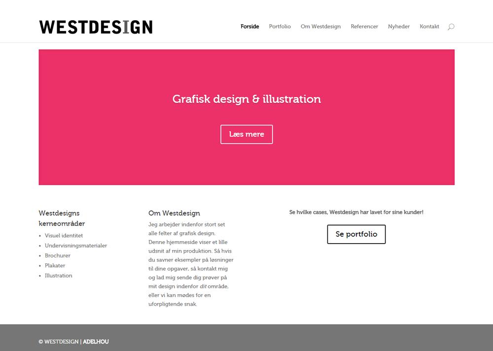 Westdesign.dk WordPress hjemmeside