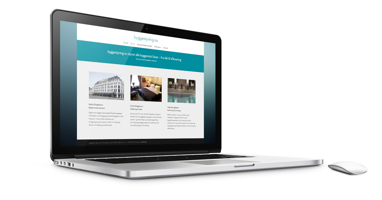 byggestyring.nu WordPress hjemmeside