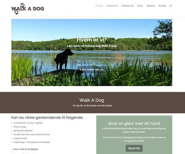 WalkaDog.dk WordPress hjemmeside