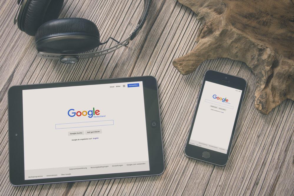 Google Adwords budgivning splittet op på enheder