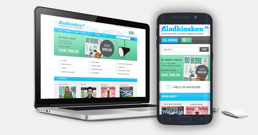 bladkiosken.dk webdesign