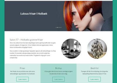 Salon 57 hjemmeside