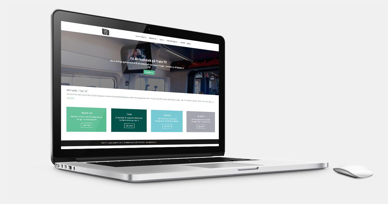 TrainTV.dk WordPress hjemmeside
