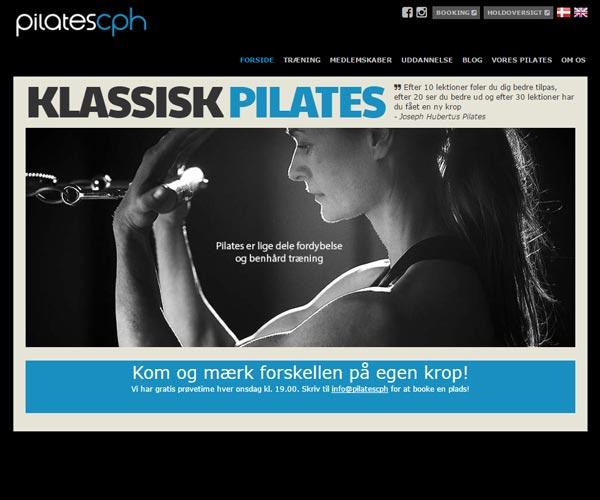 Gammel hjemmeside
