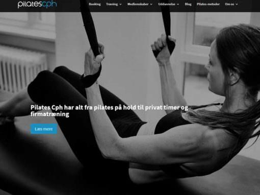 PilatesCph.dk WordPress hjemmeside