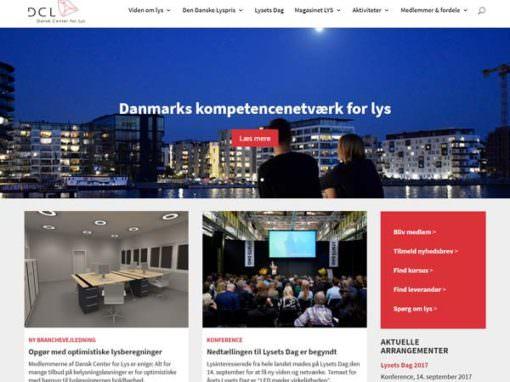 Centerforlys.dk Divi hjemmeside