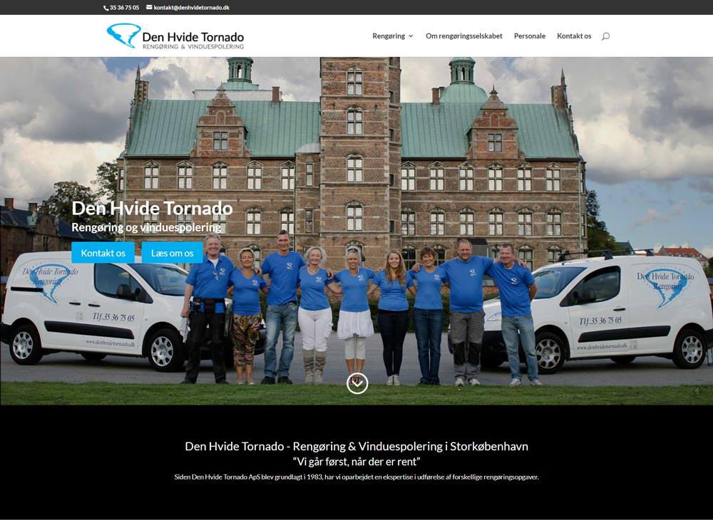 Ny hjemmeside