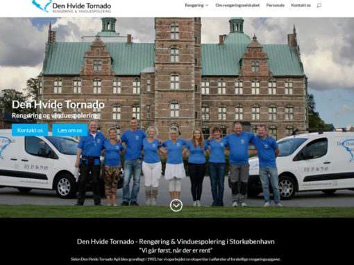 DenHvideTornado.dk WordPress hjemmeside
