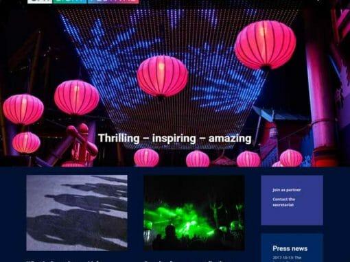 Divi hjemmeside til CPH Light Festival