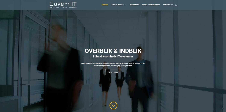 Ny hjemmeside til GovernIT