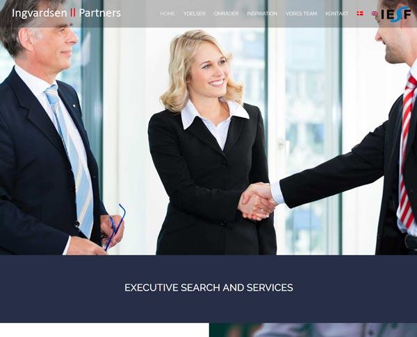 Nyt design til hjemmesiden ingvardsen.com