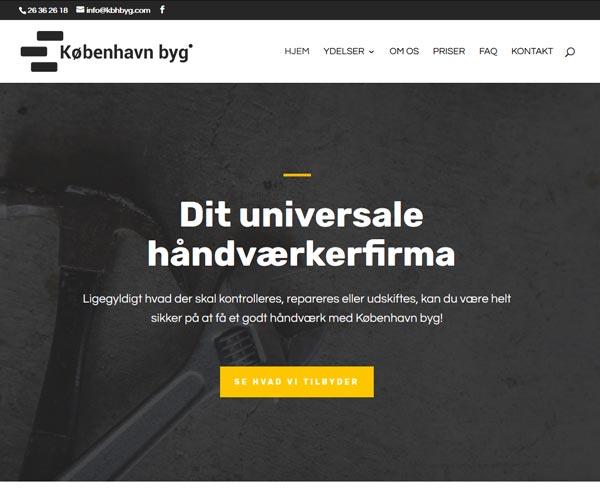 KbhByg.com WordPress hjemmeside