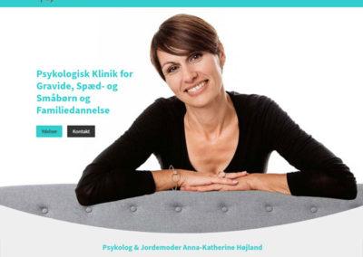 annakatherine.dk WordPress hjemmeside
