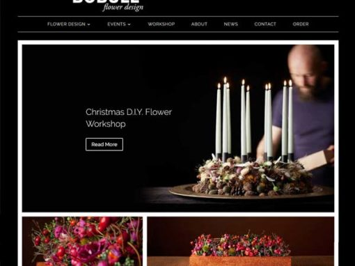 BoBull.com WordPress hjemmeside