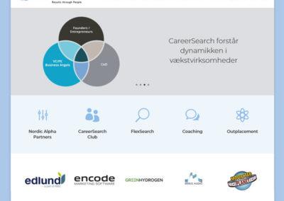 CareerSearch.dk WordPress hjemmeside