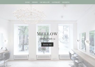 MellowHair.dk WordPress hjemmeside